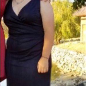 Navy Blue Prom/Formal Ralph Lauren Dress